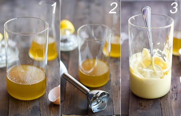 Ingredientes y pasos para hacer mayonesa con batidora americana